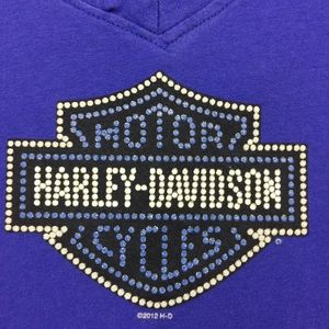 Harley-Davidson Tops - Harley Davidson Electric Blue Tank